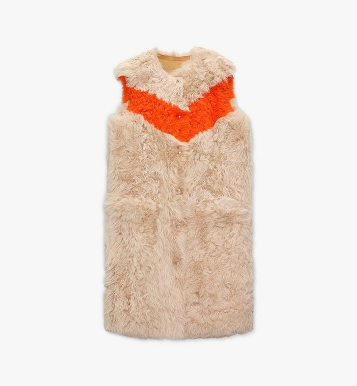 MCM Women's Resnick Reversible Shearling Vest Alternate View