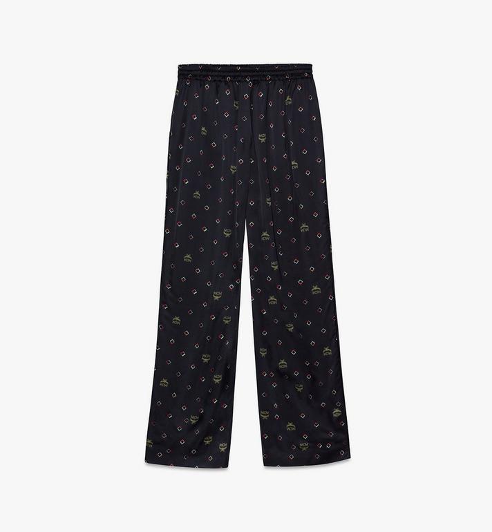 MCM Pyjamahose mit Discorauten-Print für Damen Black MFXASMV01BT042 Alternate View 2