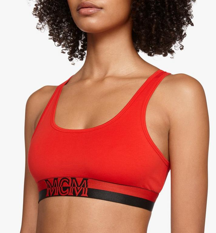 MCM Women's 1976 Sports Bra Red MFYASBM02RE0XL Alternate View 2