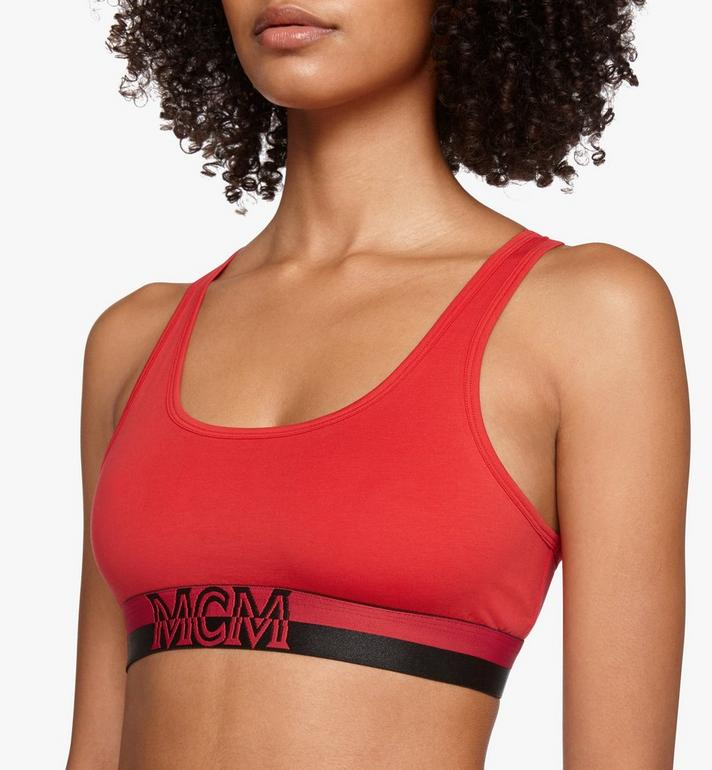 MCM Women's 1976 Sports Bra Red MFYASBM02RE0XL Alternate View 3