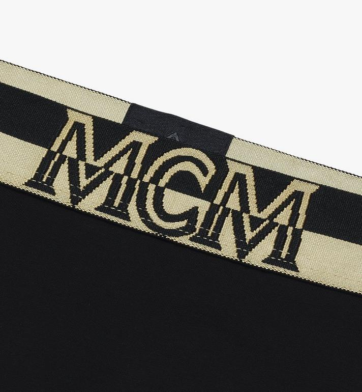 MCM Women's 1976 Thong Black MFYASBM03BK00M Alternate View 3