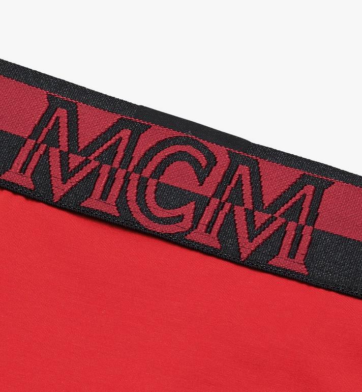 MCM Women's 1976 Thong Red MFYASBM03RE00M Alternate View 3