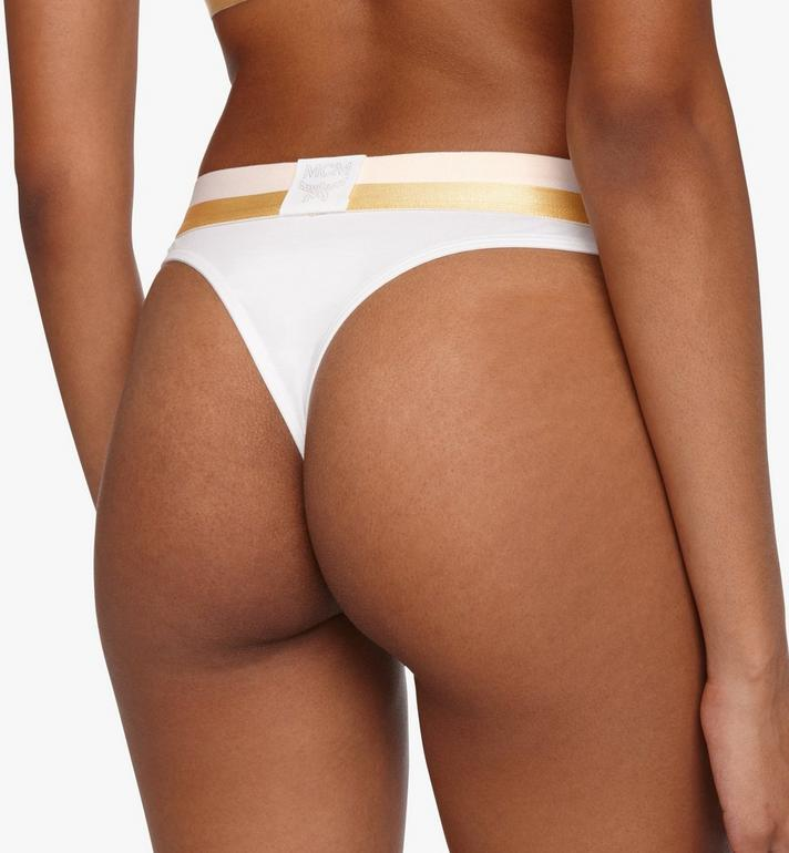 MCM Women's 1976 Thong White MFYASBM03WT00M Alternate View 5