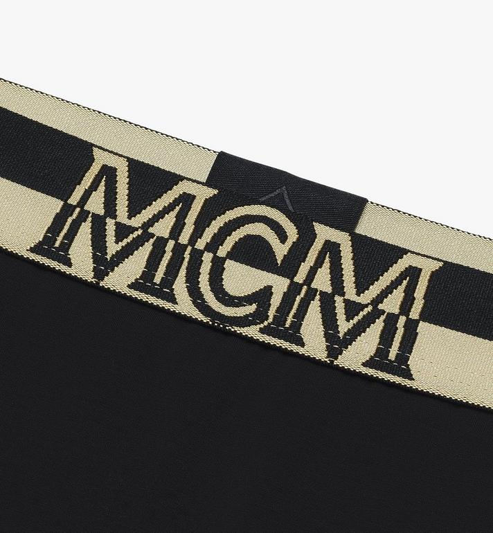 MCM 女士 1976 四角褲 Black MFYASBM04BK00L Alternate View 3