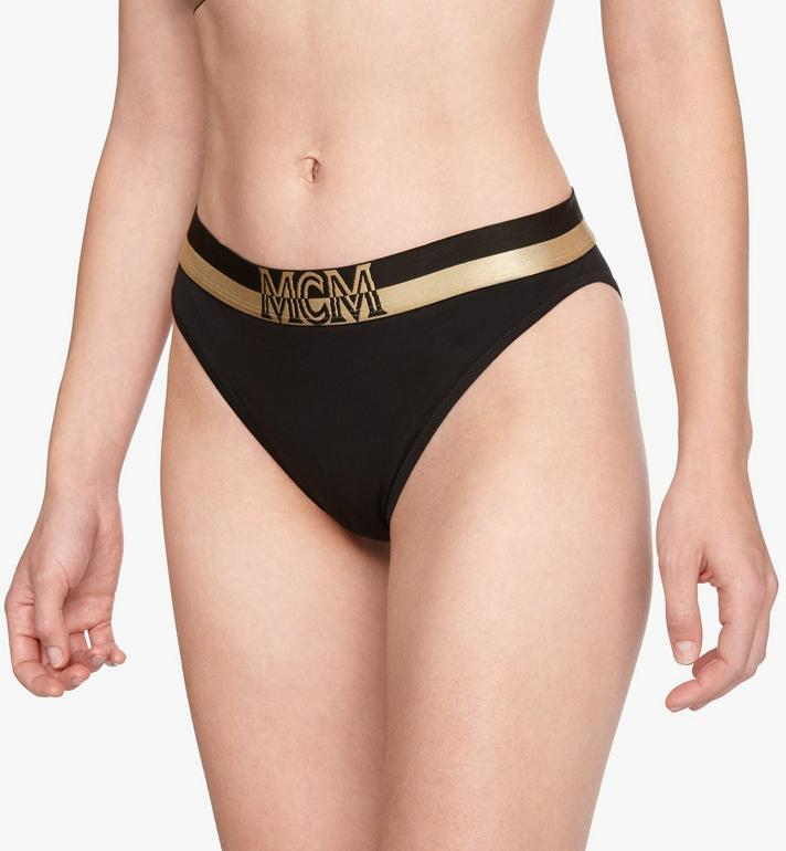 MCM Women's 1976 Briefs Black MFYASBM04BK00M Alternate View 4
