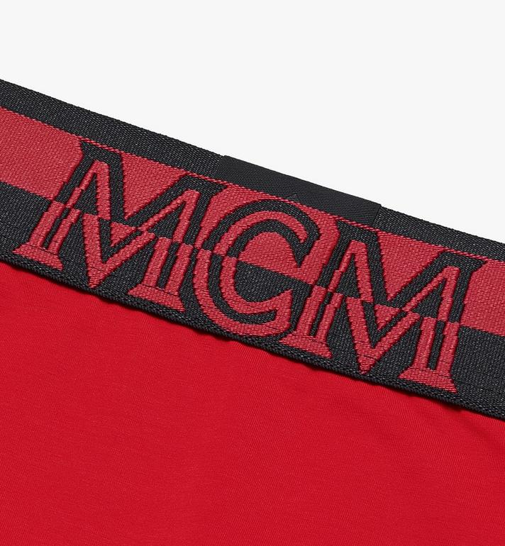 MCM Women's 1976 Briefs Red MFYASBM04RE0XS Alternate View 3
