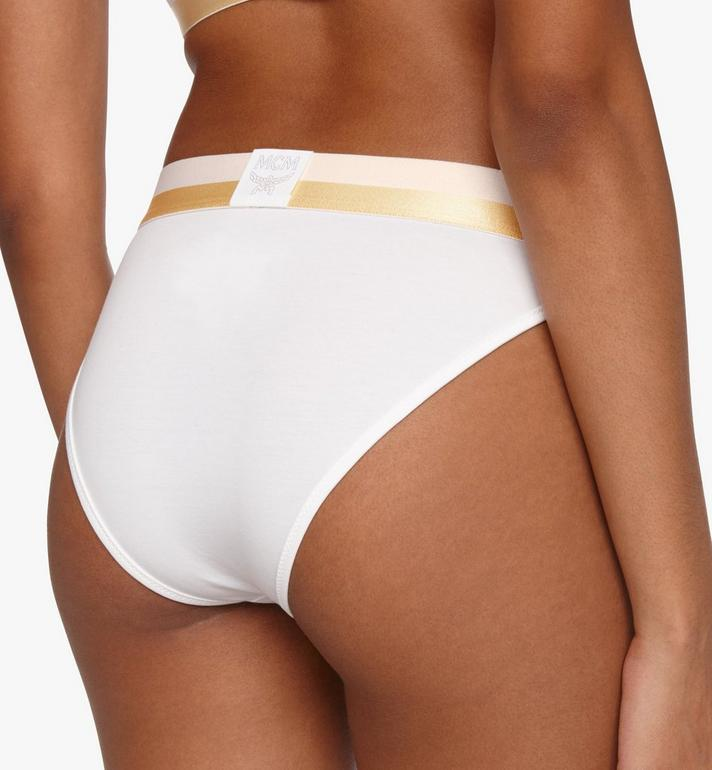 MCM Women's 1976 Briefs White MFYASBM04WT00L Alternate View 5