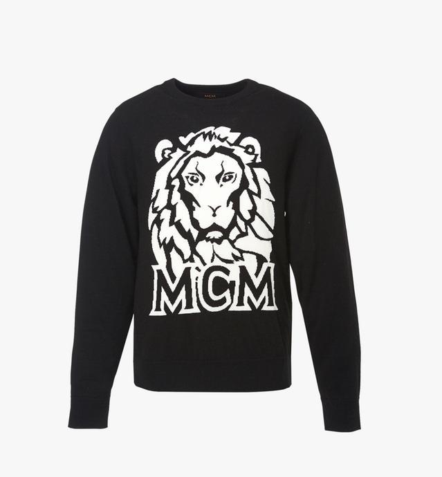 PULL MOTIF MUNICH LION INTARSIA POUR HOMME