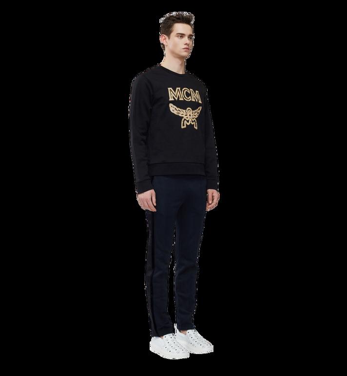 MCM Men's Classic Logo Sweatshirt Black MHA8SMM12BK00L Alternate View 5