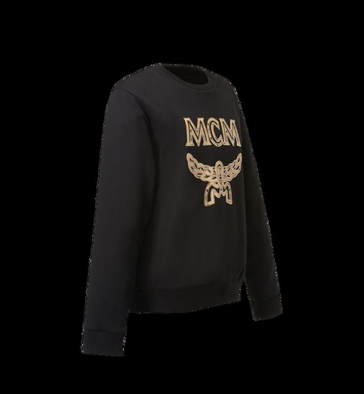 MCM Men's Classic Logo Sweatshirt Black MHA8SMM12BK00M Alternate View 2