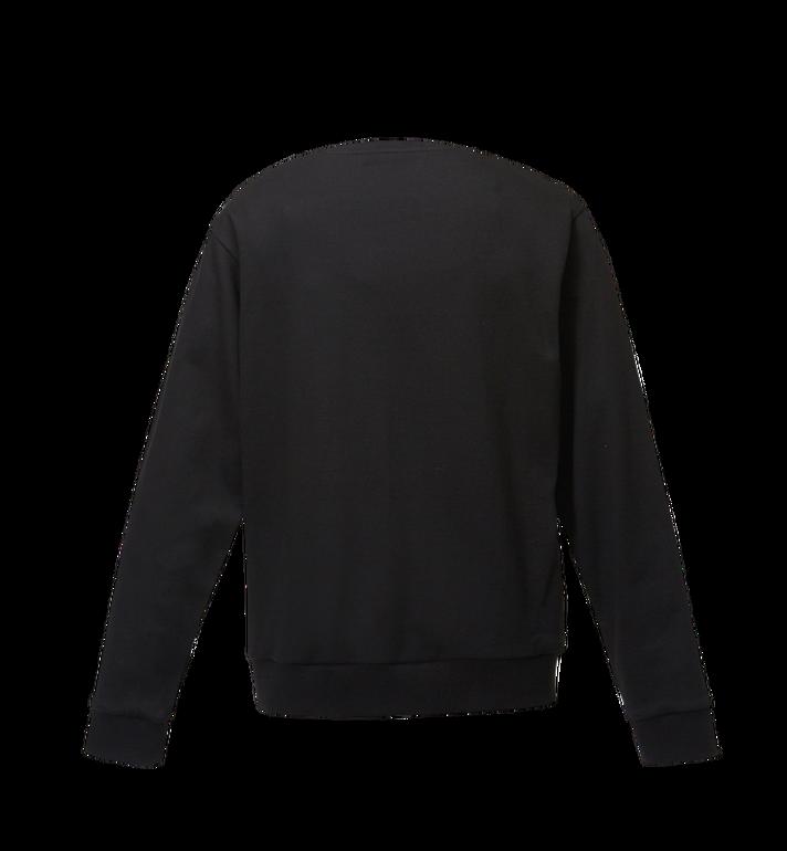 MCM Men's Classic Logo Sweatshirt Black MHA8SMM12BKXXL Alternate View 3