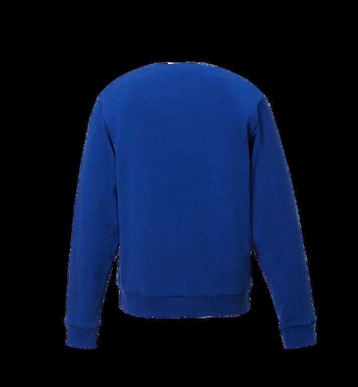 MCM Men's Classic Logo Sweatshirt Blue MHA8SMM12HT00S Alternate View 3