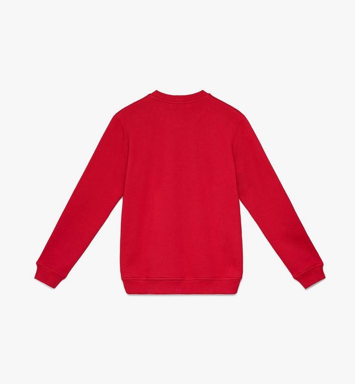 MCM Men's Milano Sweatshirt Red MHA9ADA74RU00L Alternate View 2