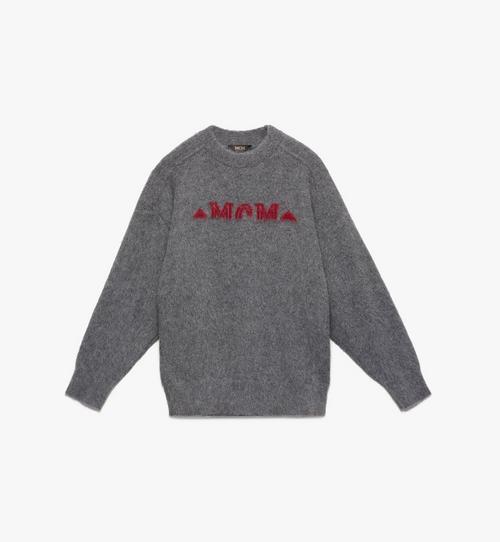 Milano Sweatshirt mit halbem Logo für Herren