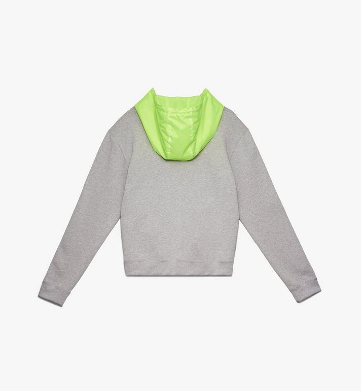 MCM Men's Flo Hooded Sweatshirt Grey MHA9ALC09EG00M Alternate View 2