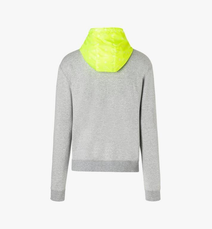 MCM Men's Flo Hooded Sweatshirt Grey MHA9ALC09EG00M Alternate View 3