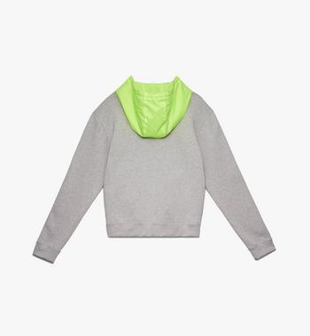 MCM Men's Flo Hooded Sweatshirt Grey MHA9ALC09EG00S Alternate View 2