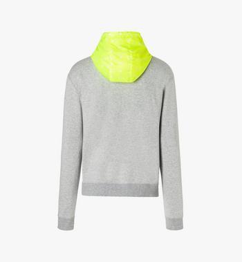 MCM Men's Flo Hooded Sweatshirt Grey MHA9ALC09EG00S Alternate View 3