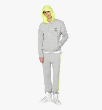 MCM Men's Flo Hooded Sweatshirt Grey MHA9ALC09EG00S Alternate View 4