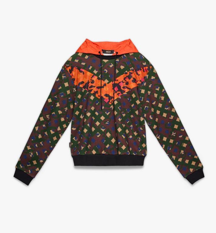 MCM Sweat-shirt à capuche pour homme en nylon camouflage Alternate View
