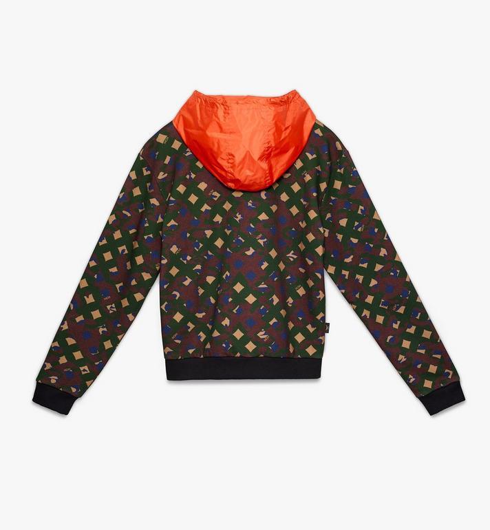 MCM Sweat-shirt à capuche pour homme en nylon camouflage Alternate View 2