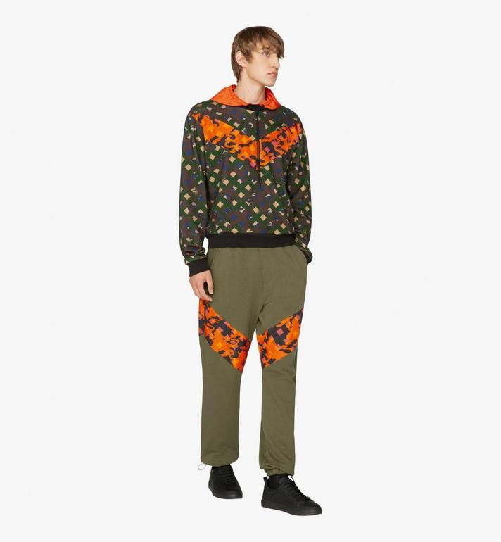 MCM Sweat-shirt à capuche pour homme en nylon camouflage Alternate View 3