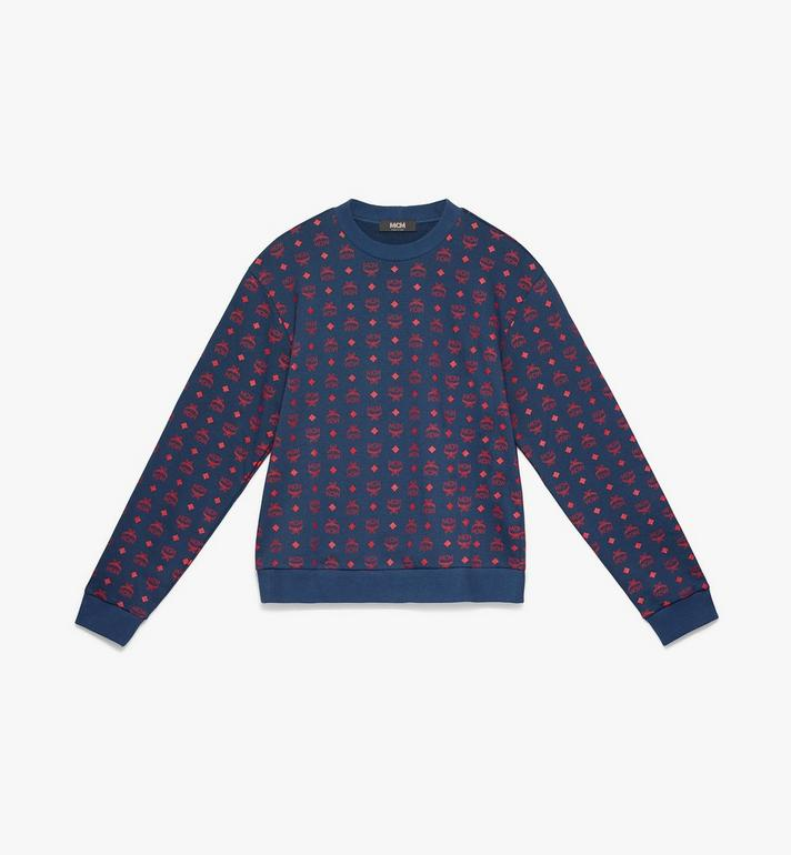 MCM Men's Oversizerd Sweatshirt in Visetos Alternate View 1