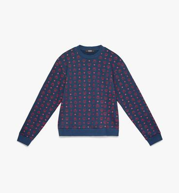 Men's Oversizerd Sweatshirt in Visetos