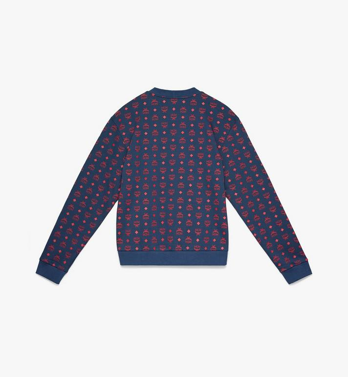 MCM Men's Oversizerd Sweatshirt in Visetos Alternate View 2