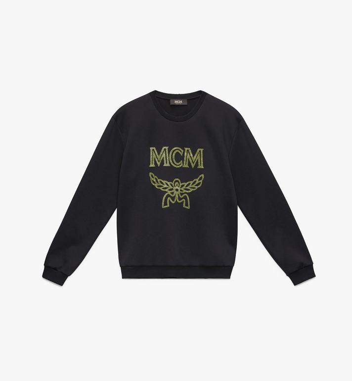 MCM Men's Crystal Logo Sweatshirt Alternate View