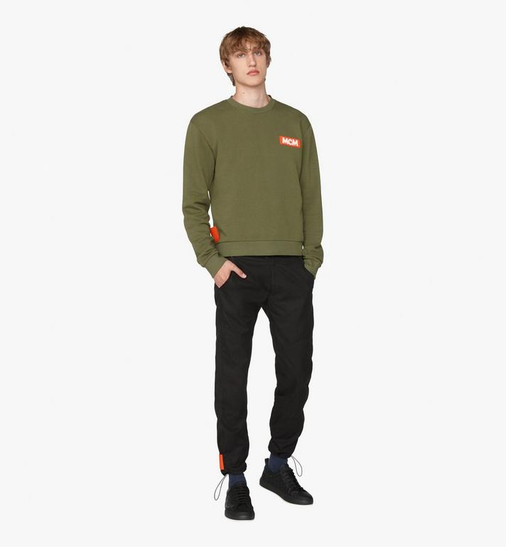 MCM Men's Resnick Utility Sweatshirt Green MHA9ARA30G800L Alternate View 3