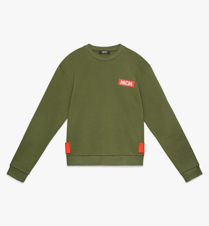 MCM Men's Resnick Utility Sweatshirt Green MHA9ARA30G800M Alternate View 1