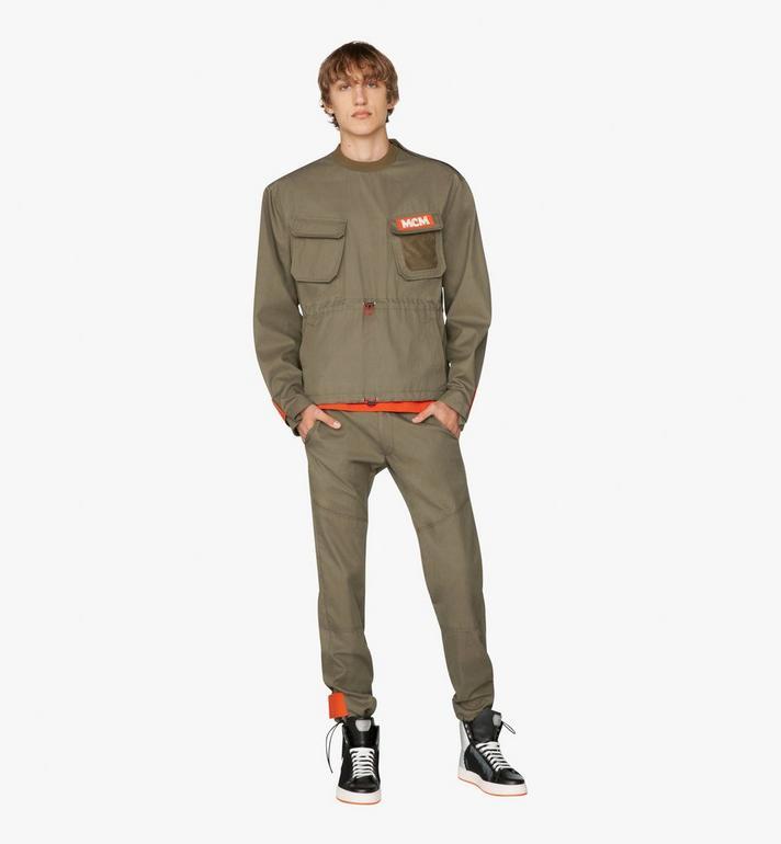 MCM Sweat-shirt militaire Resnick  MHA9ARA34G800M Alternate View 3
