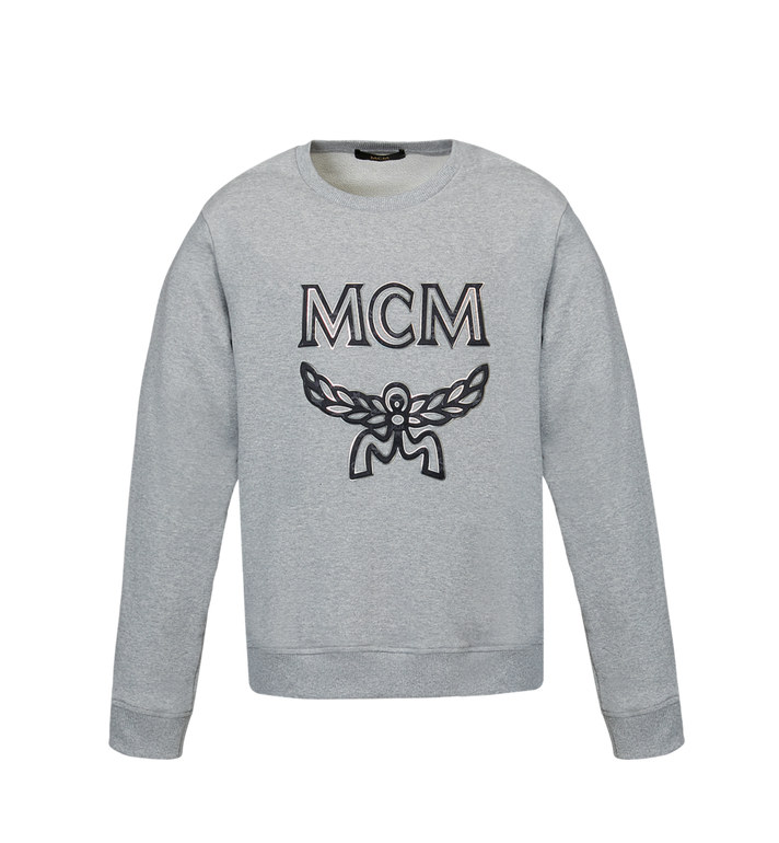 MCM Men's Logo Sweatshirt Grey MHA9SMM12EG00M Alternate View 1