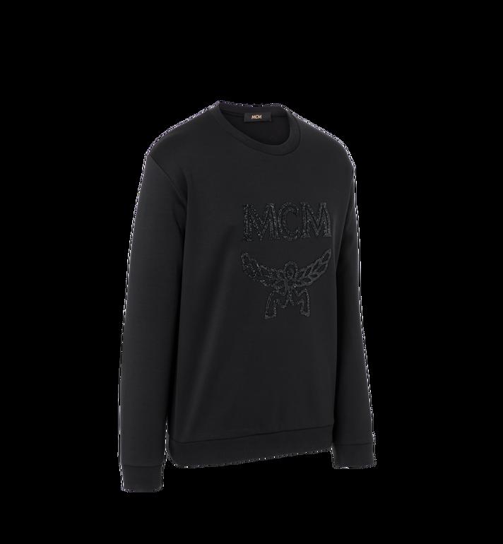 MCM Men's Crystal Detail Logo Sweatshirt Alternate View 2