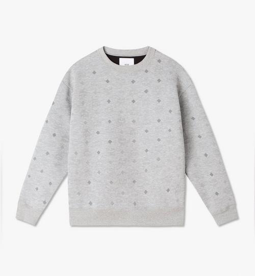 Sweat-shirt monogrammé réfléchissant MCM X PHENOMENON pour homme