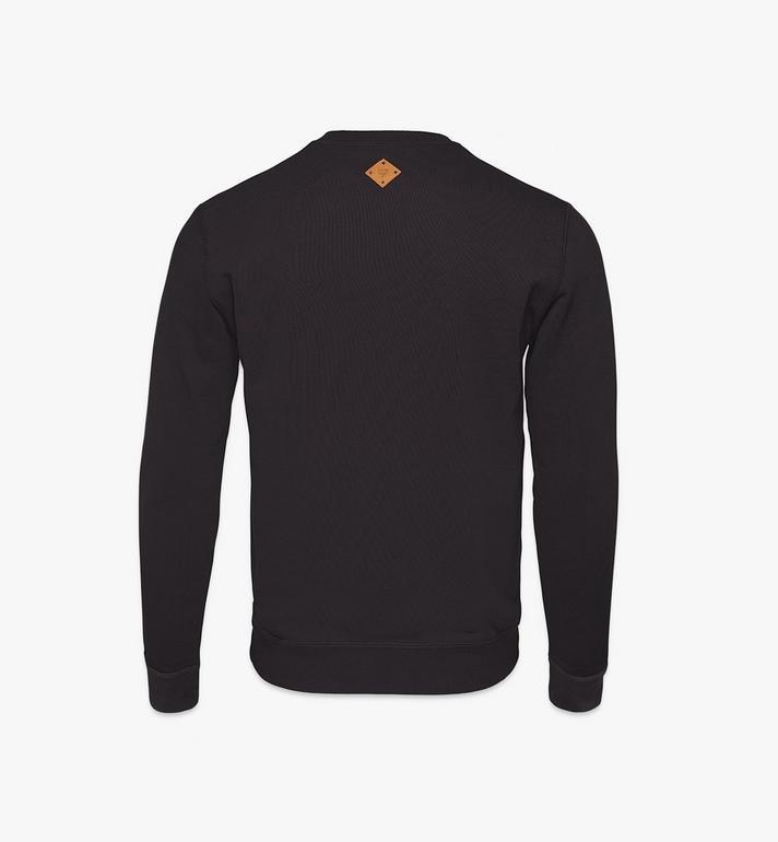MCM Men's Classic Logo Sweater Black MHAASMM01BK00S Alternate View 2