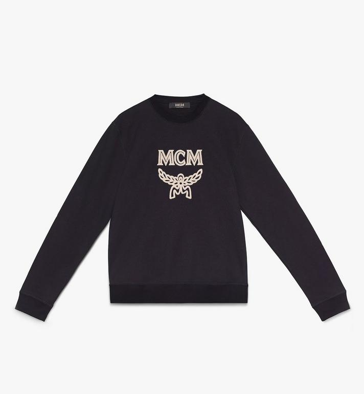 MCM 男士 Logo 運動衫 Black MHAASMM01BT00M Alternate View 1