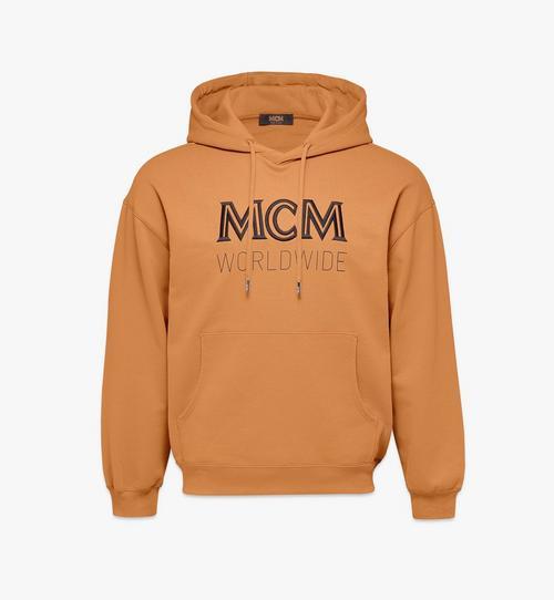 Sweat-shirt à capuche à logo pour homme