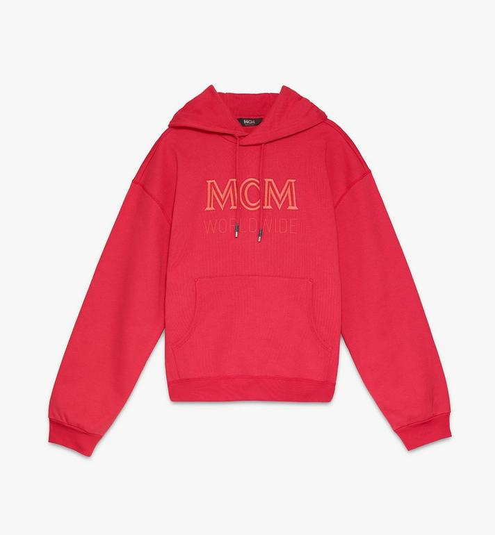 MCM MCM 男士 Worldwide 連帽上衣 Red MHAASMM03R400M Alternate View 1