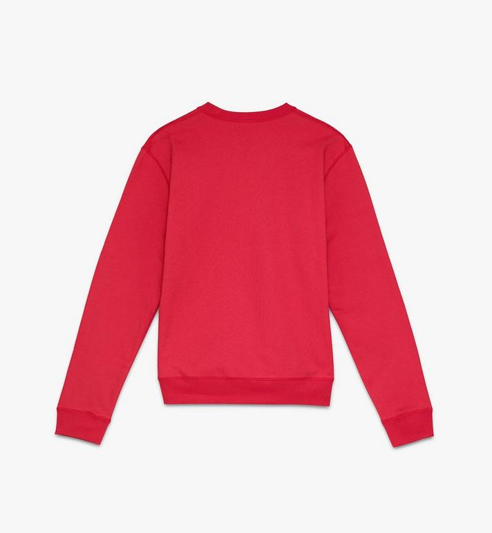 MCM Men's Year Of The Mouse Mockneck Sweatshirt Red MHAASSE02R400S Alternate View 2
