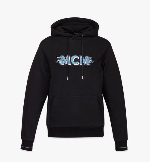 Sweat-shirt à capuche avec logo MCM pour homme