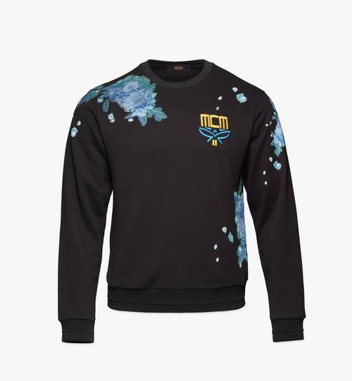 Men's Tech Flower Print Sweatshirt