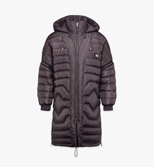 Men's Convertible Quilted Coat in Nylon