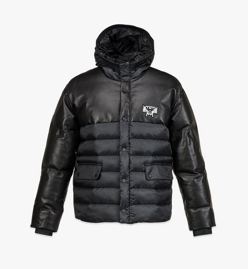 Men's Padded Parka in Recycled Polyester