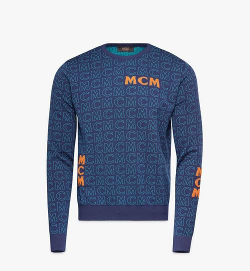 Men's Monogram Wool Sweater