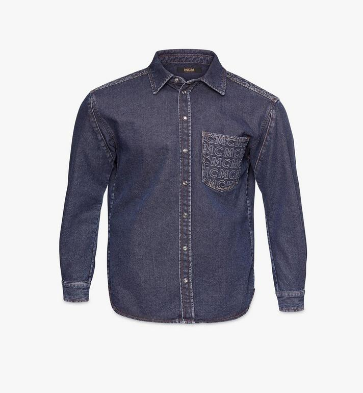 MCM Men's Denim Shirt Alternate View