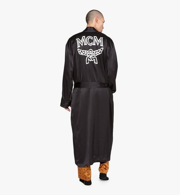 MCM Classic Logo Silk Reversible Robe Cognac MHHASBM02CO00S Alternate View 8