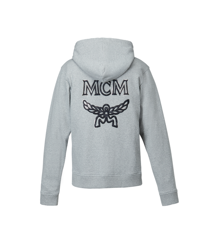 MCM Men's Logo Zip Hoodie Alternate View 3