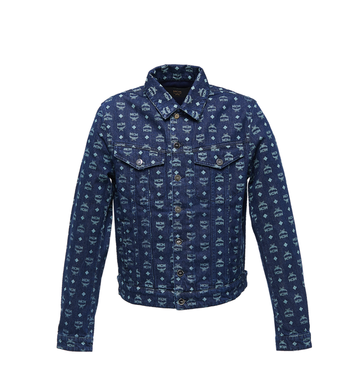 MCM Men's Denim Jacket in Visetos Alternate View 1